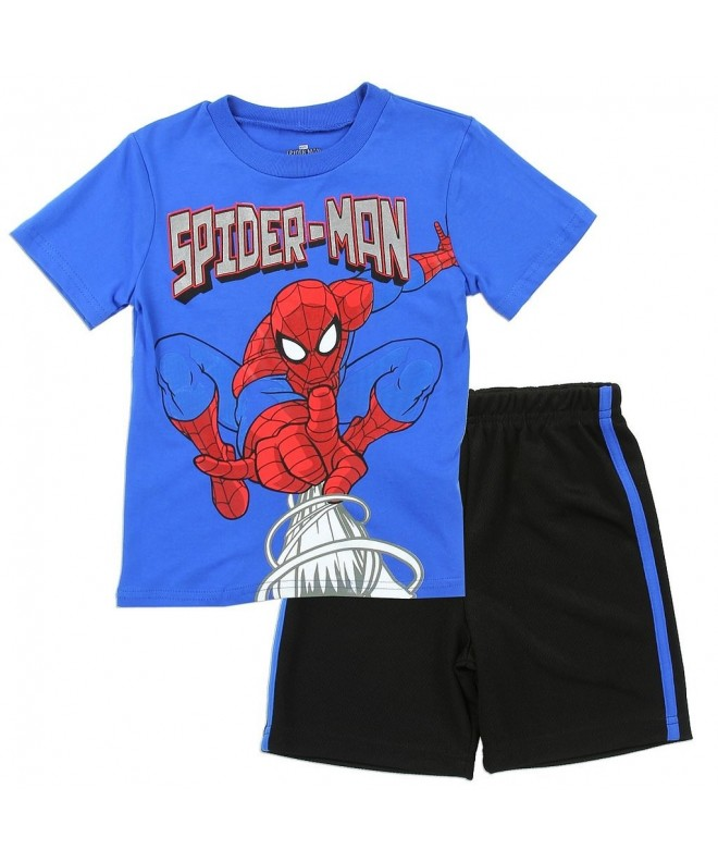 Marvel Little Toddler Spiderman Shorts