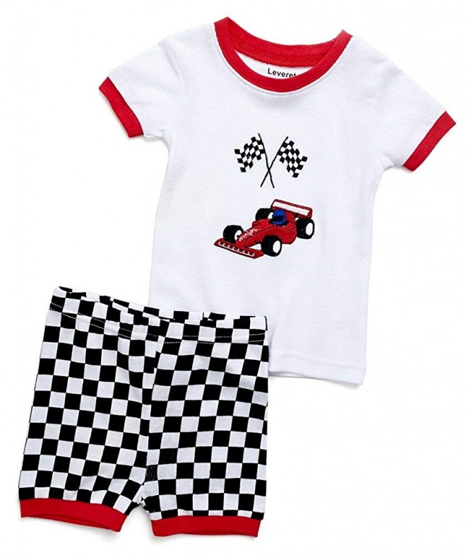 Leveret Toddler Pajamas Shorts Sleepwear