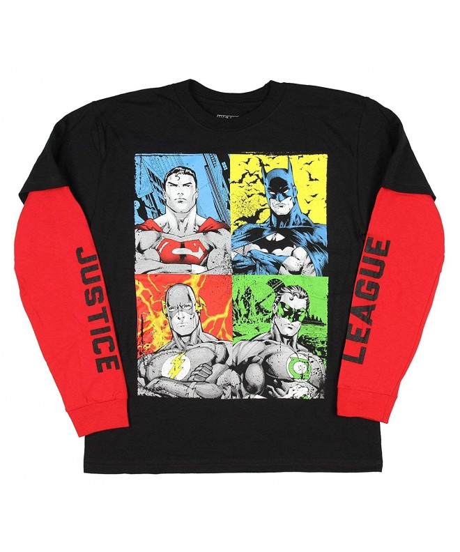 Novelty T Shirts Comics Justice League
