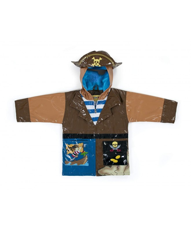 Kidorable Pirate All Weather Raincoat Treasure