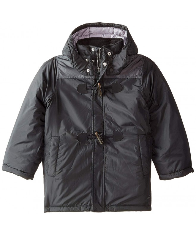 Nautica Boys Toggle Closure Hooded