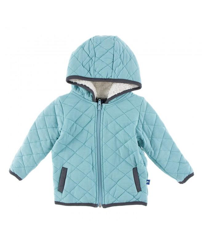 Kickee Pants Quilted Jacket Sherpa