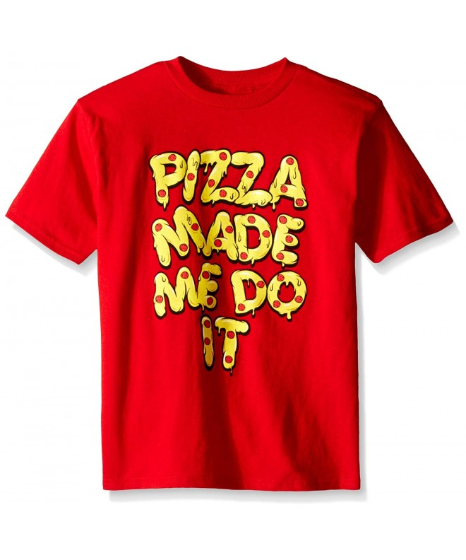 FREEZE Pizza Short Sleeve T Shirt