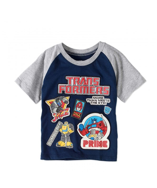 Transformers Toddler Embroidered Patches Graphic