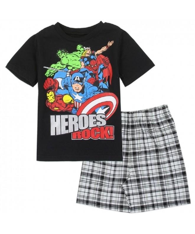 Avengers Todder Boys Woven Short