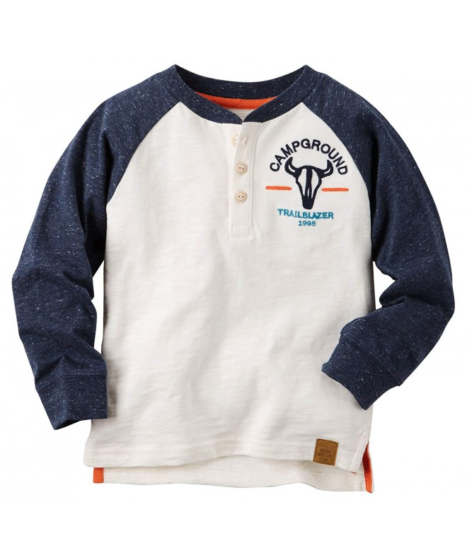 Carters Boys White Campground Trailerblazer