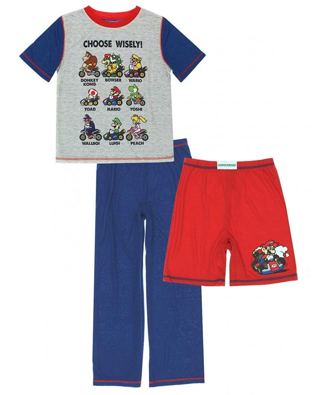 Komar Super Mario Shorts Pajamas