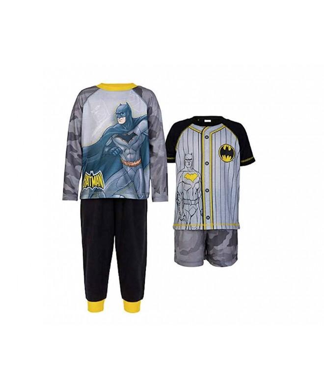 Batman Character Kids 4 Piece Pajama