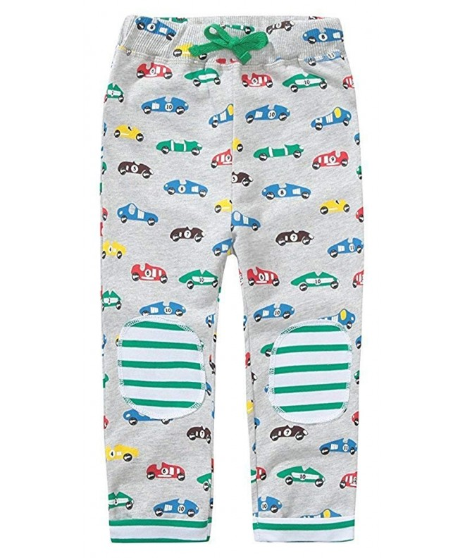 KIDSALON Little Drawstring Elastic Sweatpants
