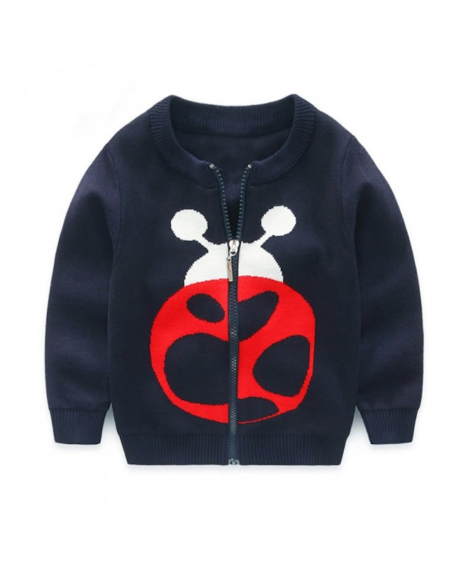 Abalacoco Cartoon Knitted Cardigans Sweaters