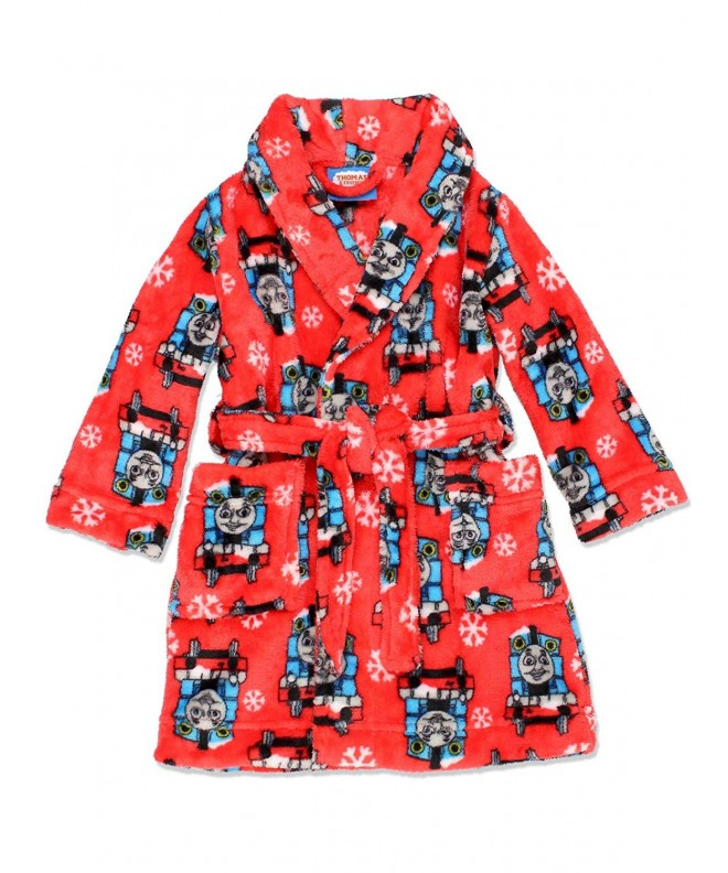 Thomas Friends Toddler Fleece Bathrobe