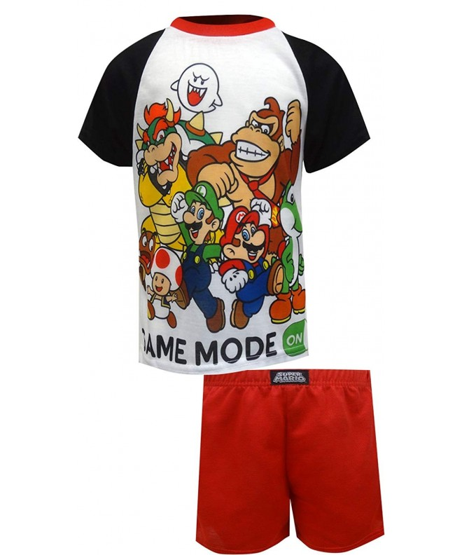 Super Mario Brothers 2 Piece Pajamas