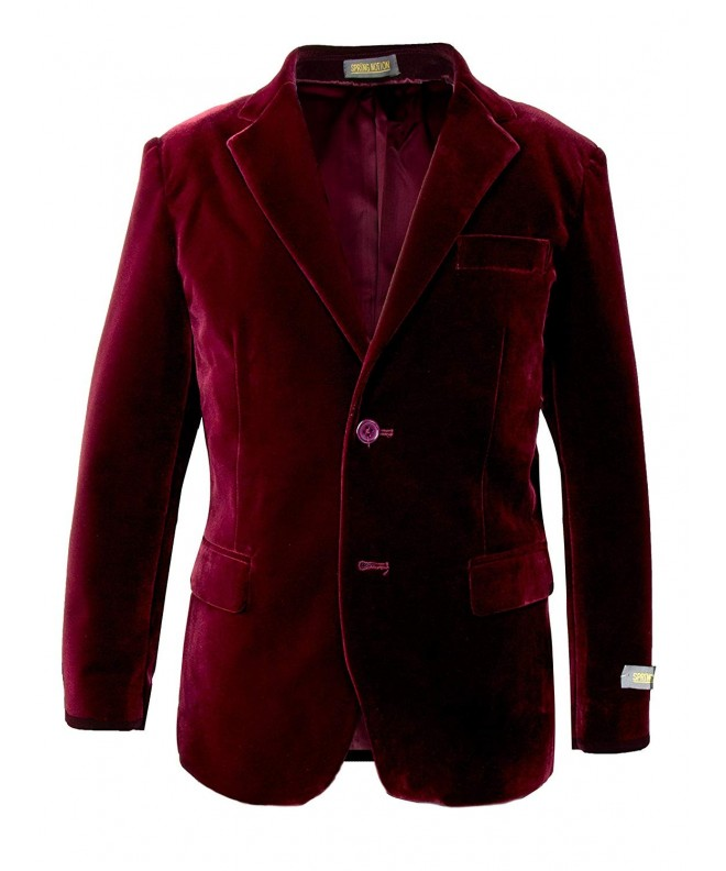 Spring Notion Boys Velvet Blazer