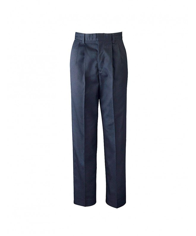 Elderwear Boys Pleated Twill Pants