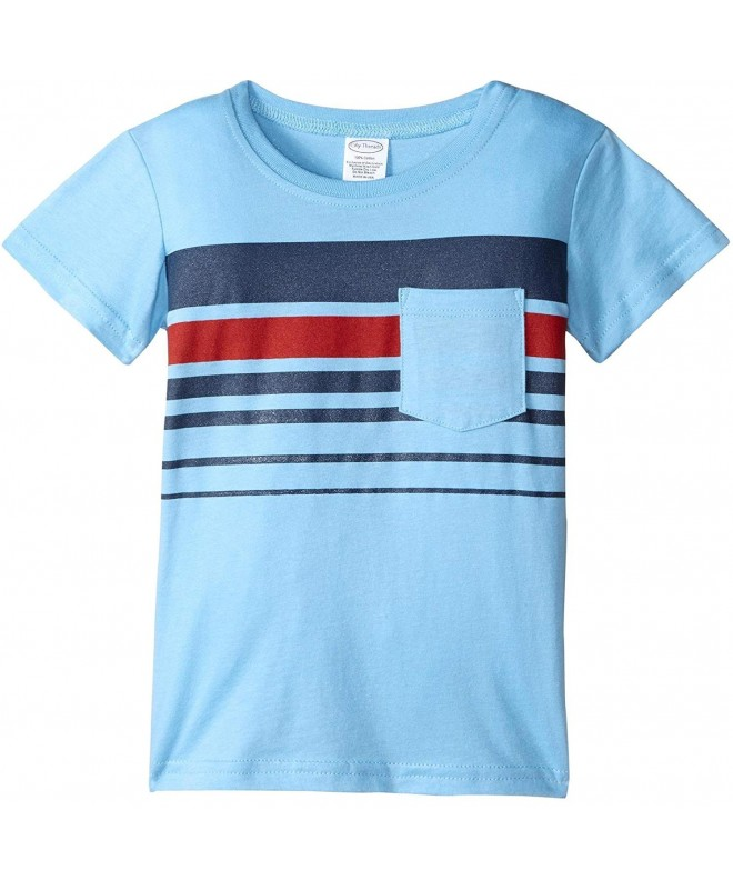 City Threads Printed Stripe Jersey