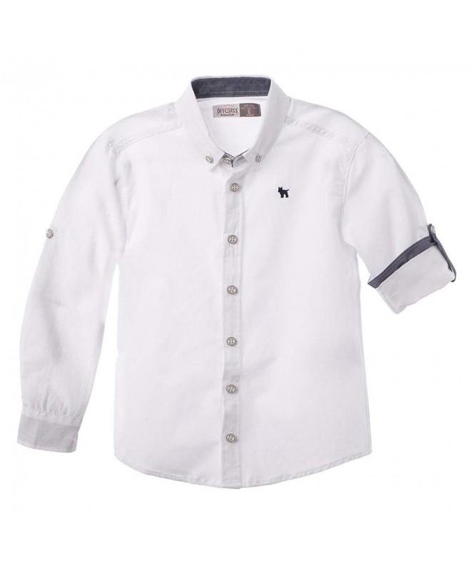 OFFCORSS Sleeve Button Shirts Camisa
