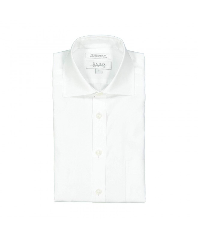 Enro White Cotton Non Iron Button