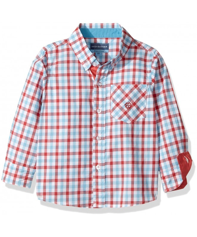 Andy Evan 26408B RDE Gingham Shirt