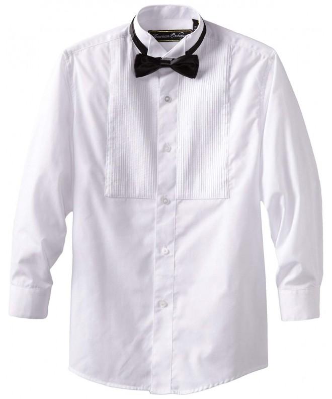 American Exchange Tuxedo Shirt Bowtie