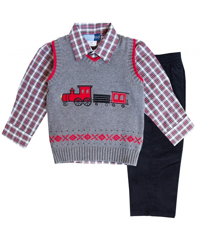 Good Lad Toddler Appliqued Sweater