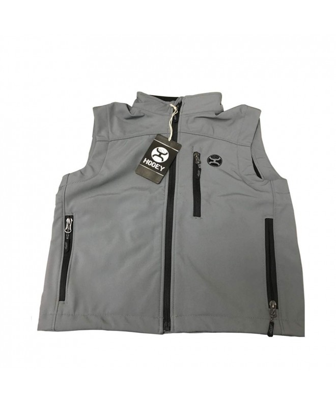 HOOey Charcoal Gray Softshell Youth
