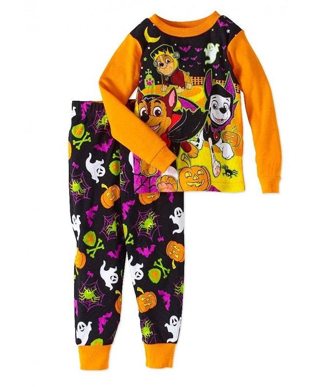 Paw Patrol Halloween Toddler Sleepwear