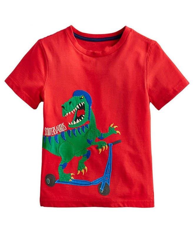 Coralup Little Sleeve Dinosaur T Shirt