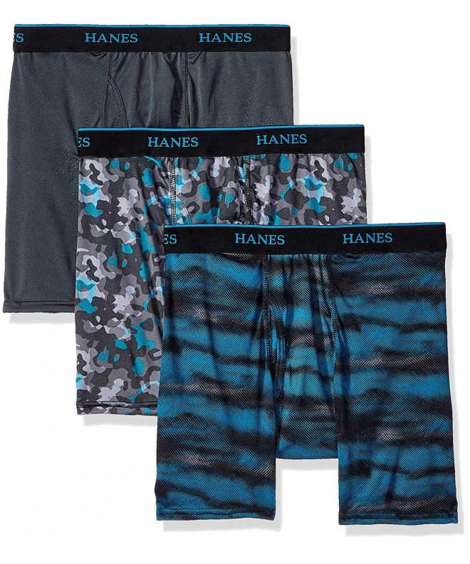 Hanes Ultimate X Temp Printed 3 Pack