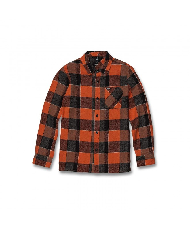 Volcom Glitch Button Sleeve Flannel