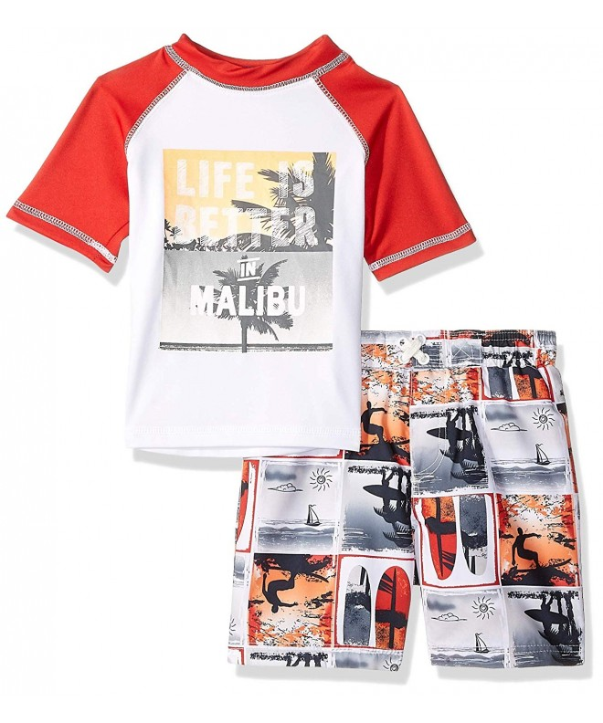 iXtreme Toddler Boys Printed Rashguard