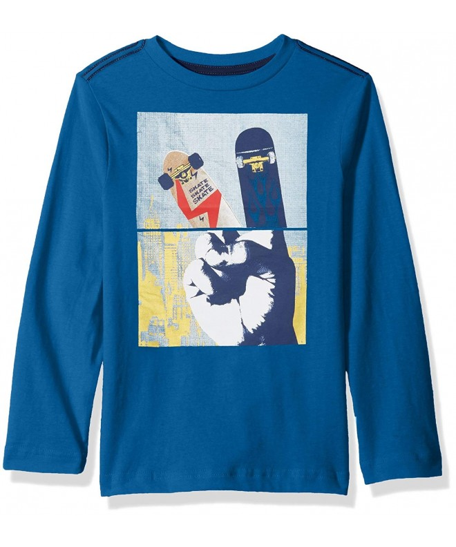 Crazy Boys His Long Sleeve Graphic