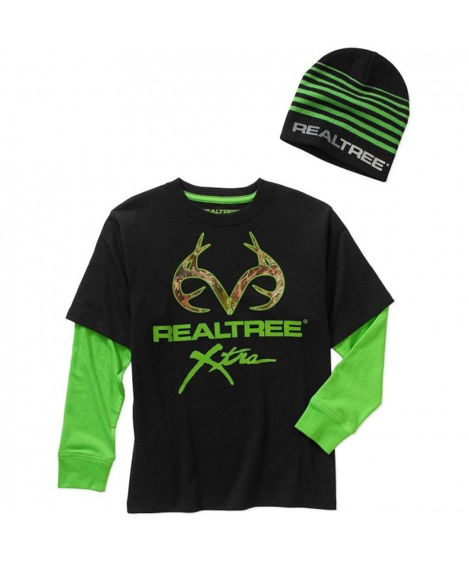 Realtree Boys Graphic Beanie Combo