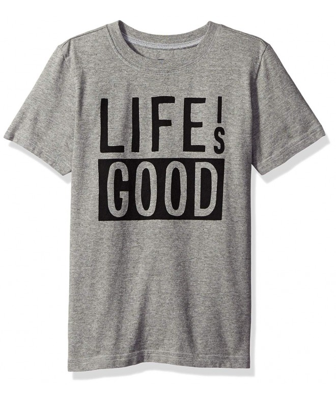 Life Good Boys Blocked Tee