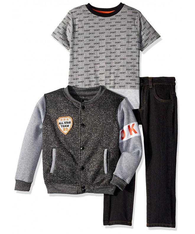 DKNY Little Avenue Fleece T Shirt