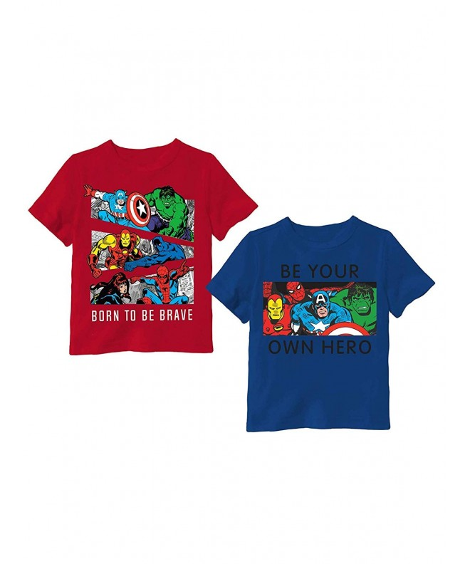 Avengers Toddler Little Graphic Shirt