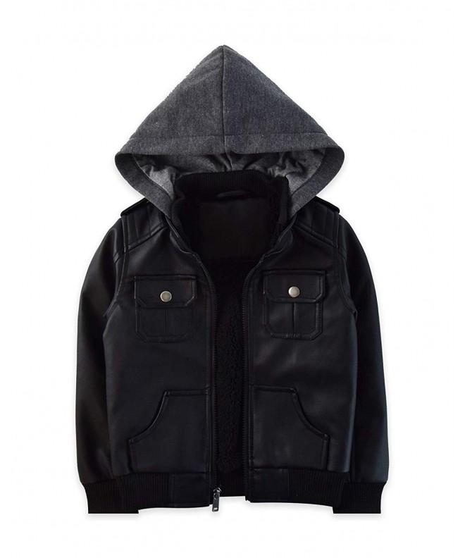 RND Boys Motorcycle Leather Jacket