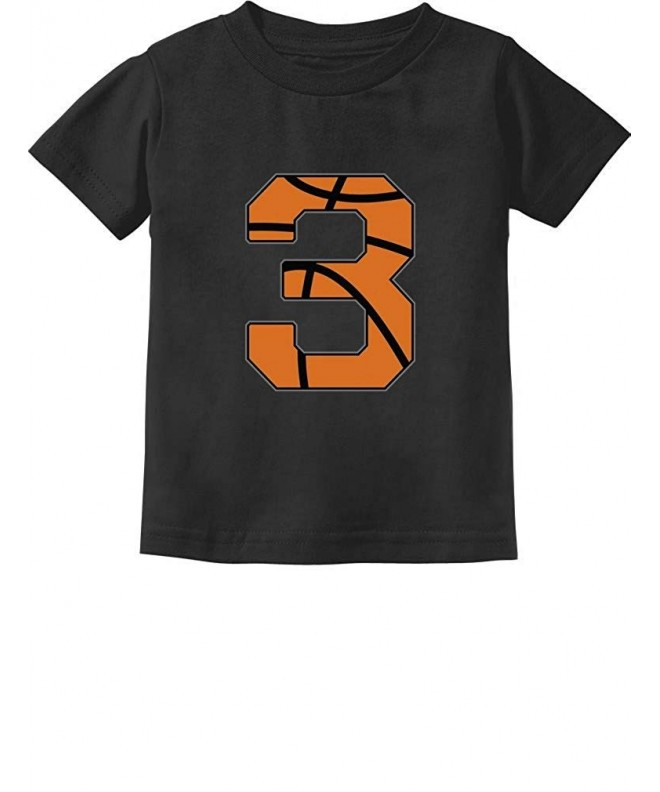 TeeStars Basketball Birthday Toddler T Shirt