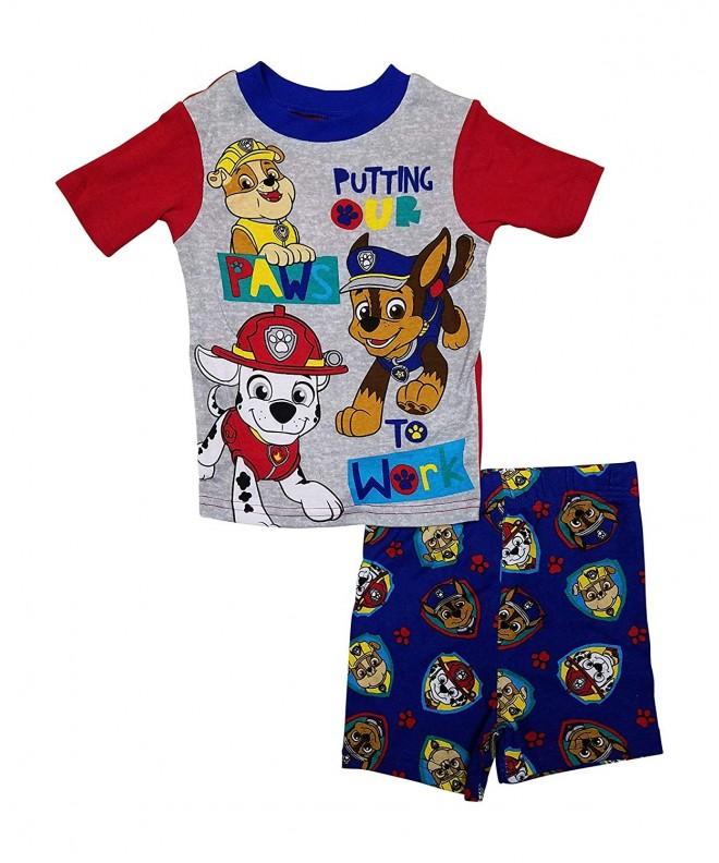Paw Patrol Boys Summer Pajamas