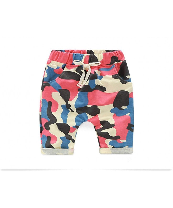 Ding dong Girls Summer Camouflage Shorts