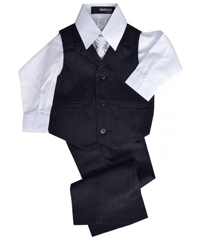 Gino Giovanni Pinstripe Formal Dresswear