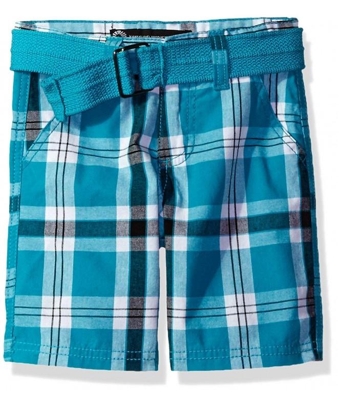 Akademiks Kids Boys Plaid Shorts
