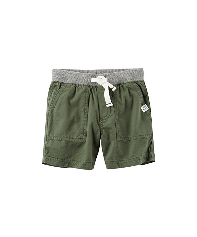 Carters Boys Green Shorts Months