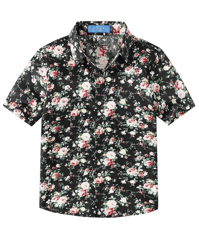 SSLR Flower Casual Sleeve Hawaiian