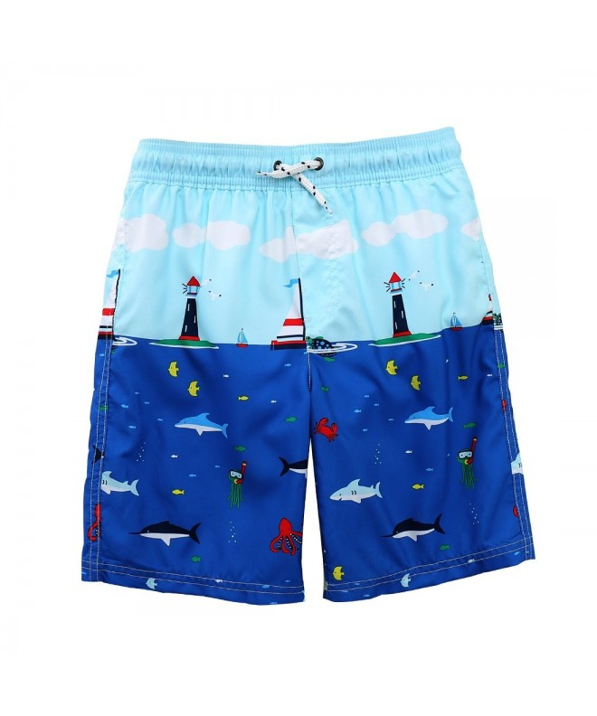MOMOLAND Toddler Boys Trunks Protection