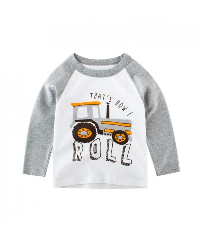 Moon Tree T Shirts Tractor Graphic