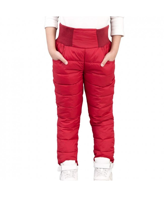 CNMUDONSI Trousers Winter Children Clothing