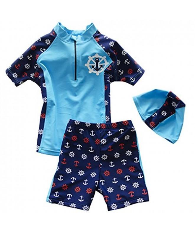 BANGELY Anchor Swimsuit Protection Swimwear