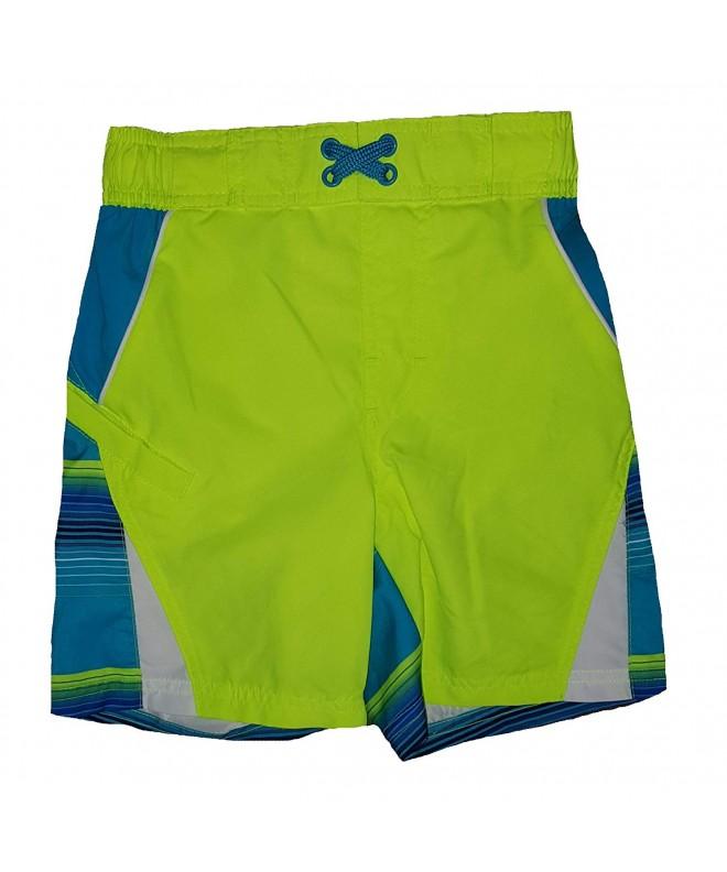 Hawaiian Ocean Color Splice Shorts