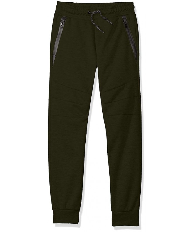 Southpole Fleece Jogger Zippered Detail