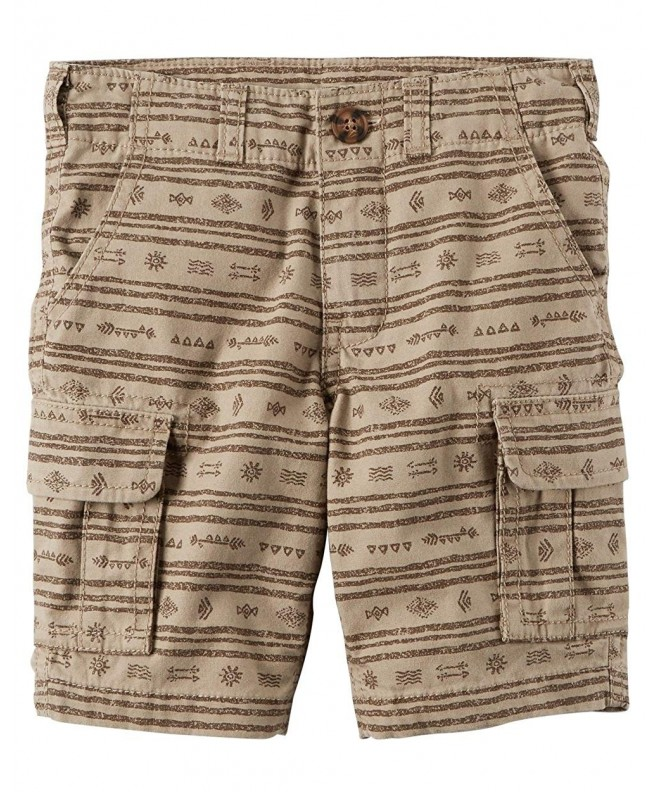 Carters Little Printed Shorts 3 Toddler